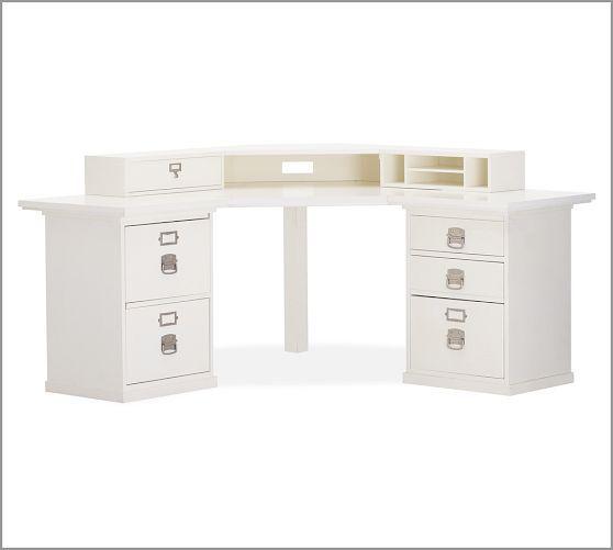 Build Your Own Bedford Modular Desk White Corner Desk Corner Desk Desk