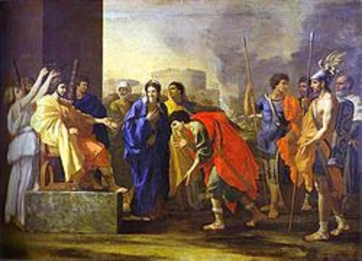 Nicholas Poussin 1595-1665 important french baroque artist