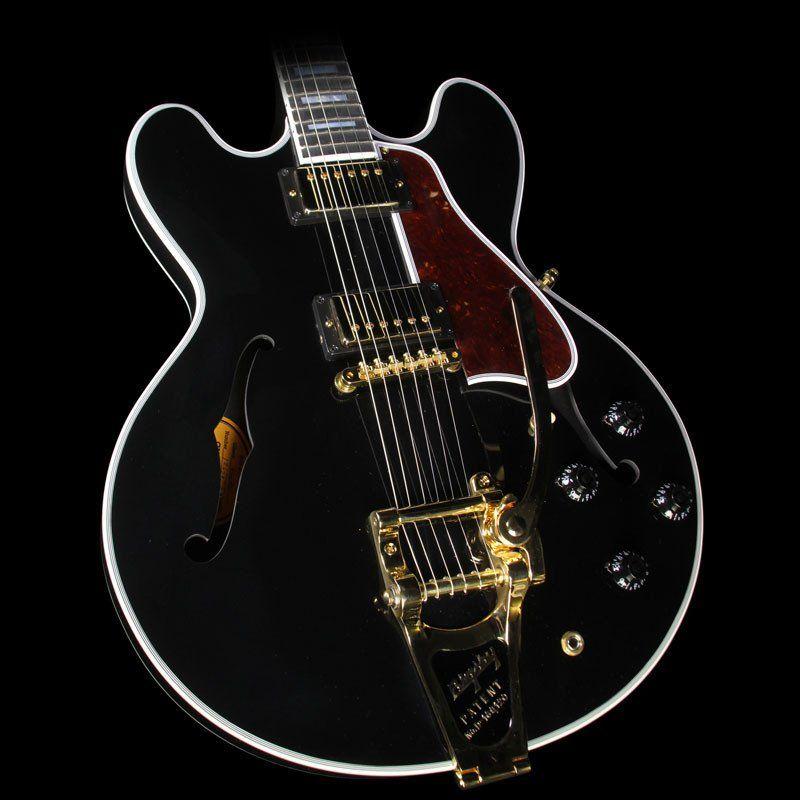 Gibson Memphis ES-355 Bigsby VOS Electric Guitar Vintage Ebony