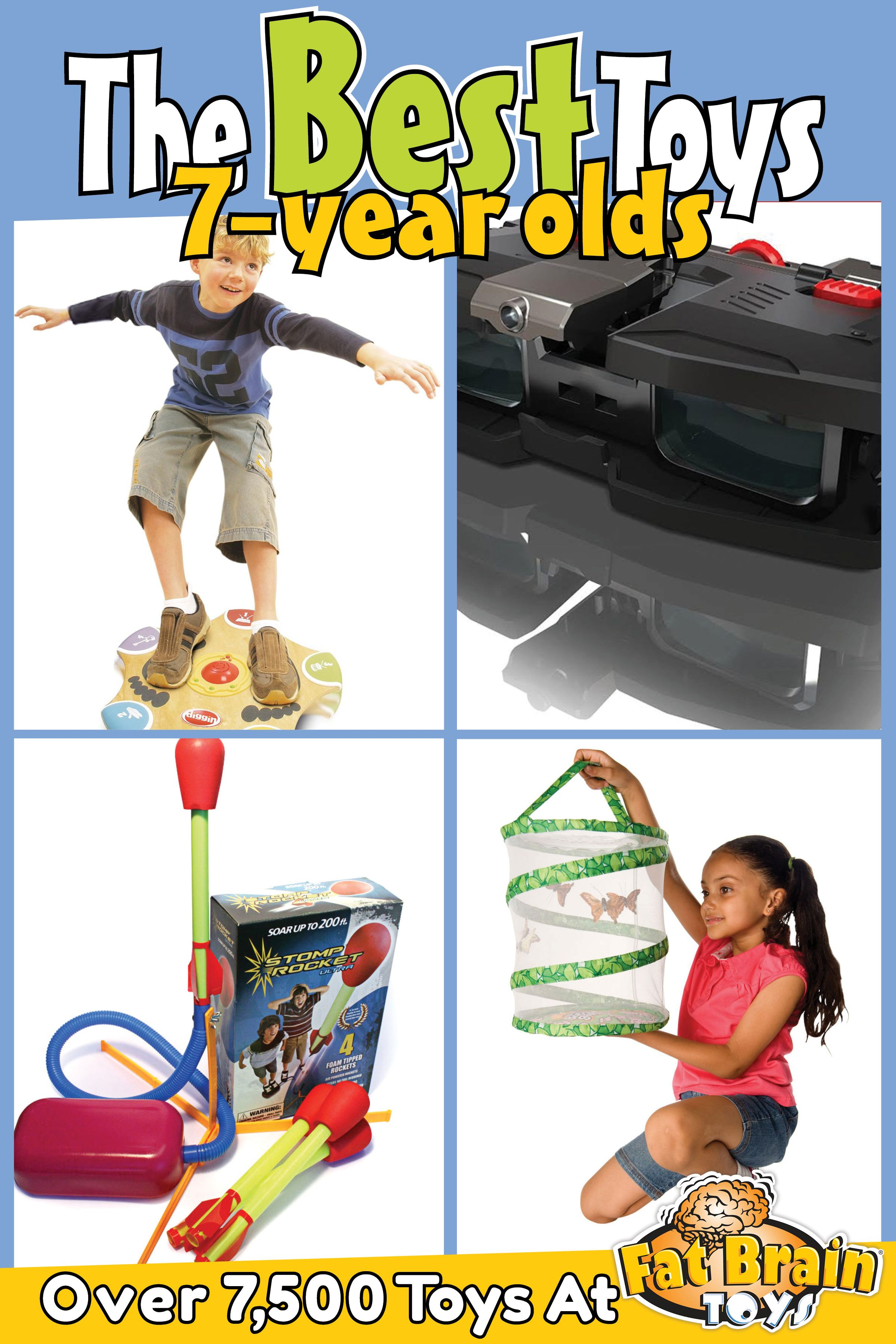 The Best Toys Games And Gifts On The Planet For 7 Year Olds From