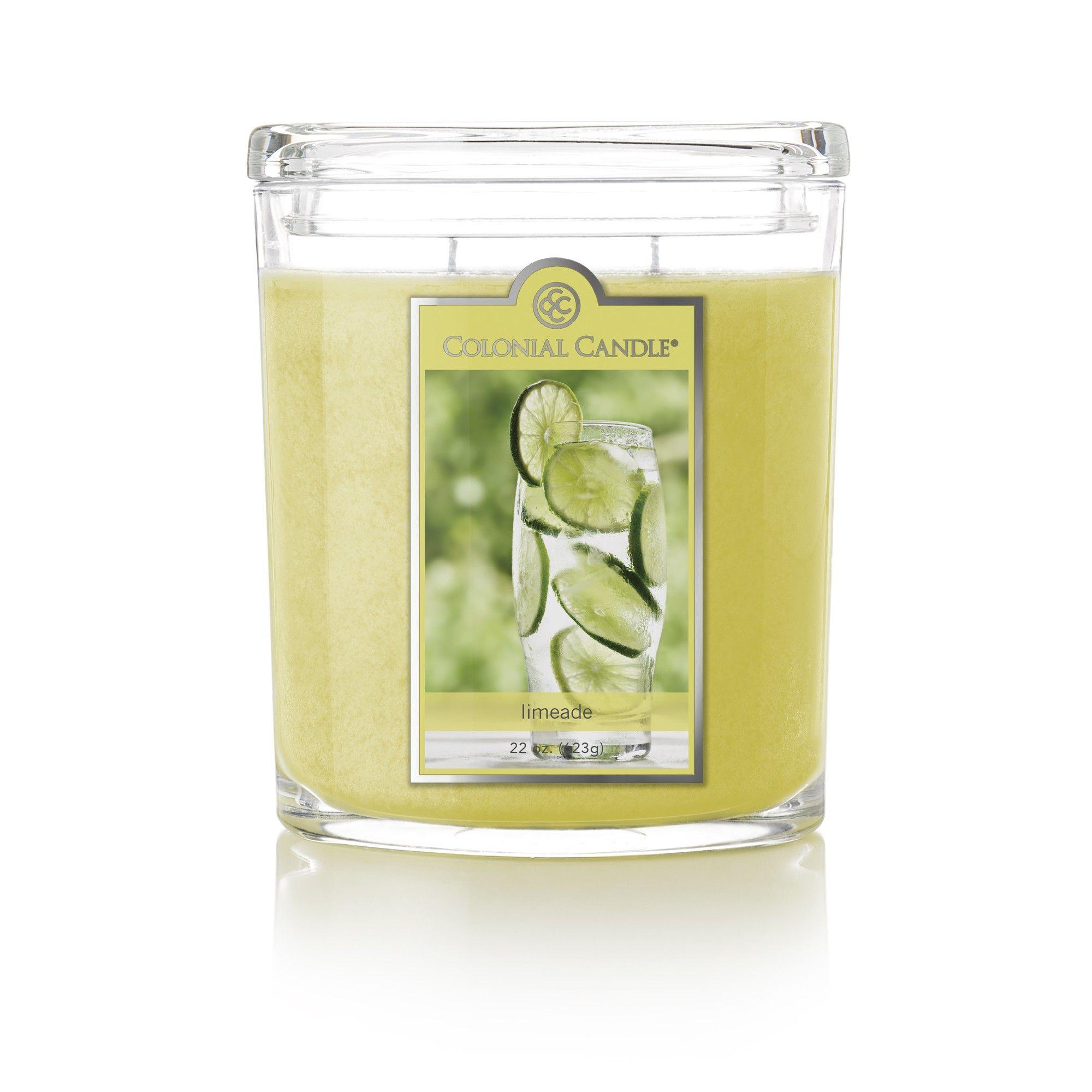 Limeade Scent Jar Candle