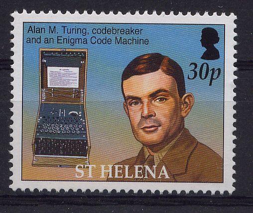Alan Turing - Enigma Naval code solver.