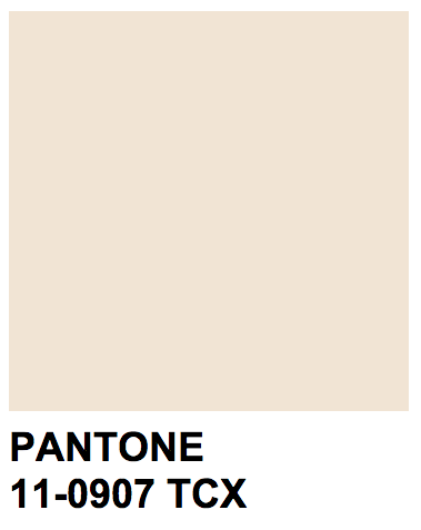 f647cc035428f Pantone 11-0907 TCX Pearled Ivory | colors in 2019 | Pantone color ...