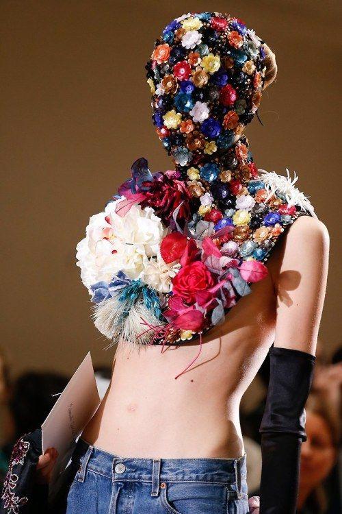 louisvuitttonn Maison Margiela Fall 13 Couture Fashion pics