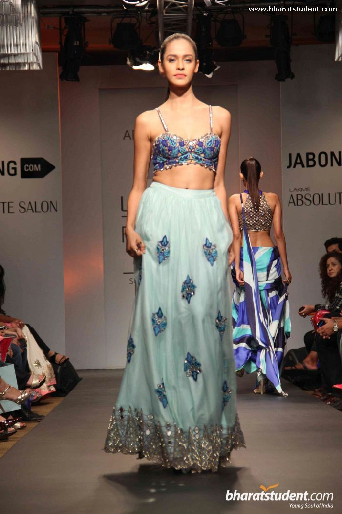 Arpita Mehta Show at Lakme Fashion Week Summer/Resort 2014