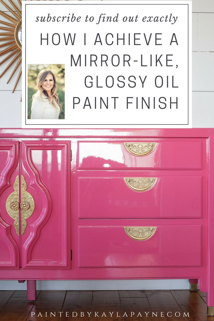 Awesome How To Achieve A Mirror Like, Glossy Oil Paint Finish On Furniture   DIY  Furniture Ideas   Pinterest   Paint Finishes, Paint Furniture And DIY  Furniture