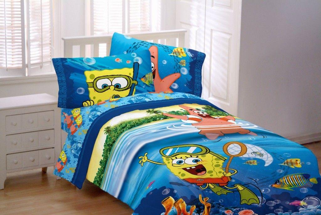 Sponge Bob Sea Adventure Sheet Set bedding Kids bed