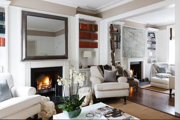 Traditional Home Double Reception Room Design Ideas Pictures