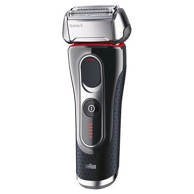 Braun Series 5 Men S Rechargeable Electric Shaver With Cleaning