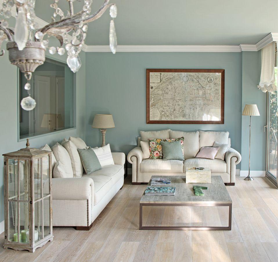 Inspirierend Wandfarbe Seidenglanzend Haus Interieur Ideen: Himmlisches Zuhause