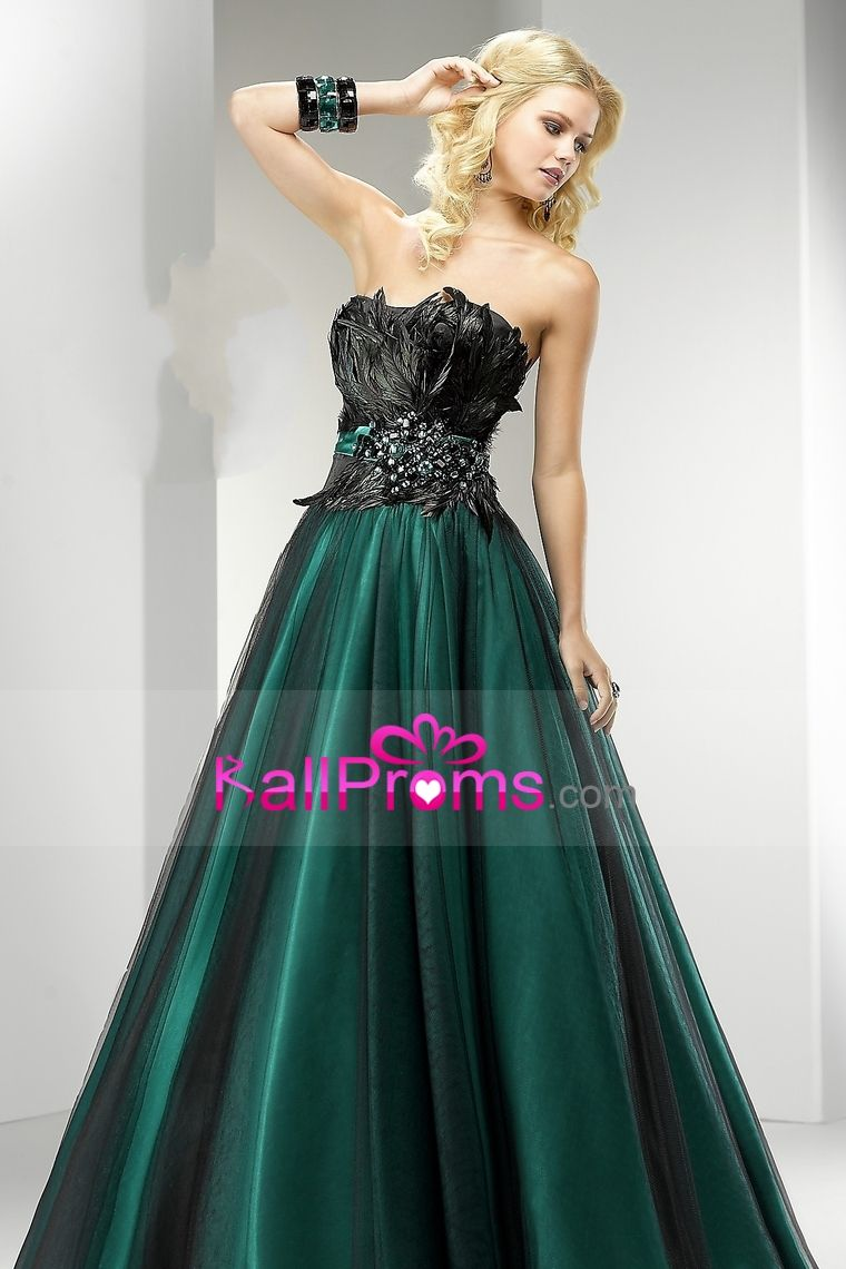 Bicolor a line floor length tulle quinceanera dress with beading