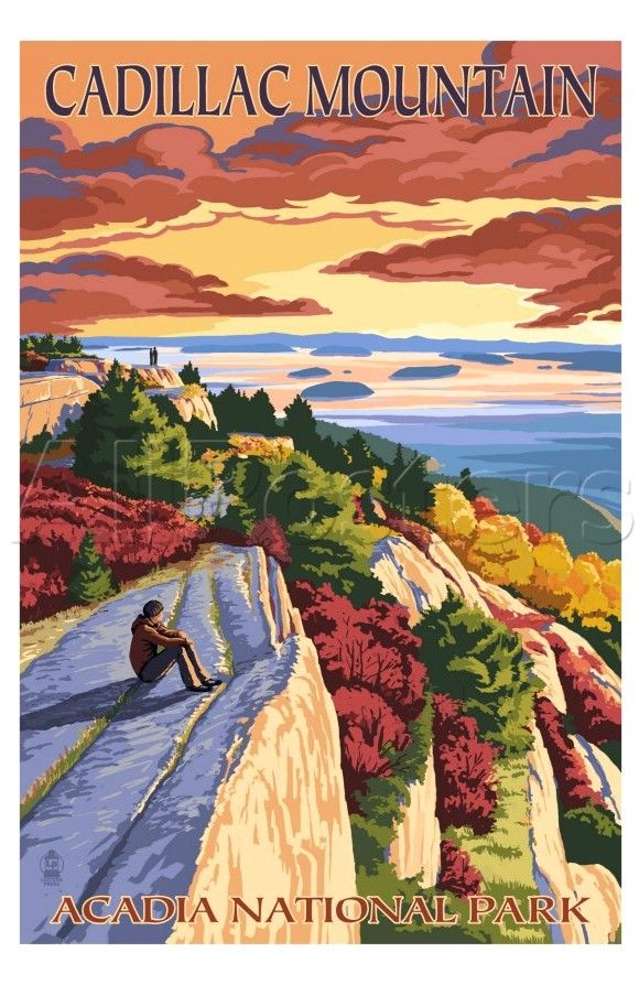 Acadia National Park Posters Travel Posters National Parks