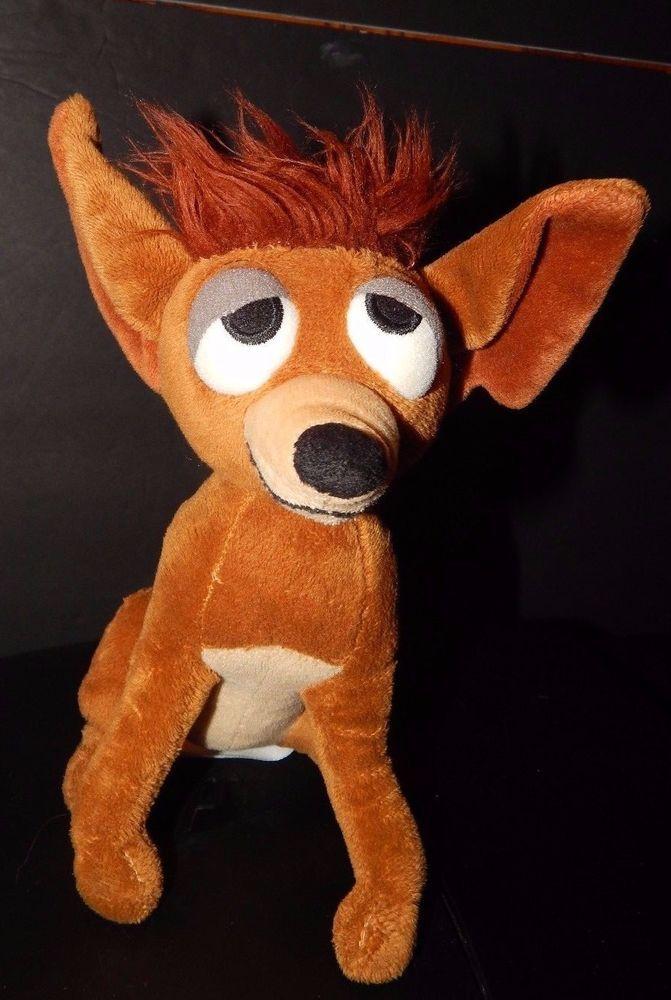 Disney Store Exclusive Oliver Company Tito Plush Chihuahua Dog 8