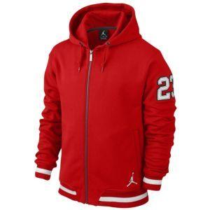 Nike Mens Shorts - Nike Jordan Varsity Fleece Gym Red/Black/White T57p9314