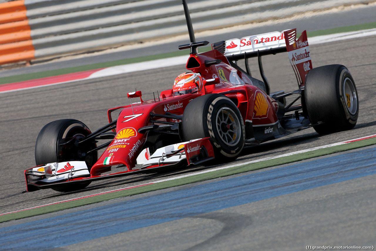 F1 2014 - Bahrain - Day 5 - Testing
