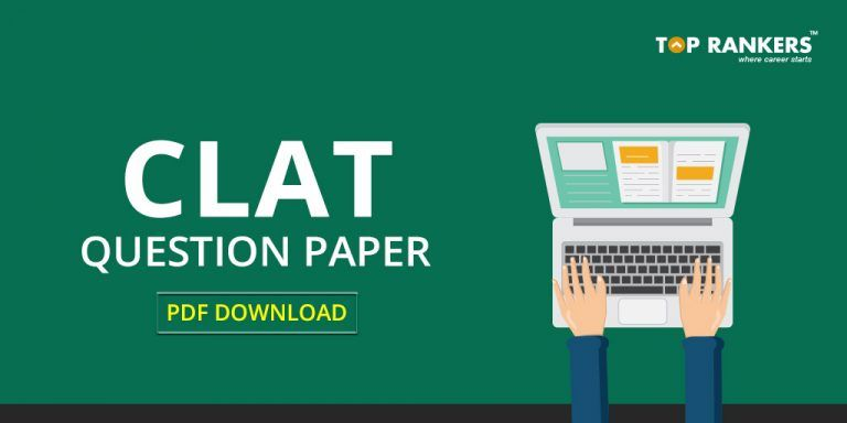 Clat Question Paper 2020 Pdf Download Last 5 Years Question Paper This Or That Questions Paper