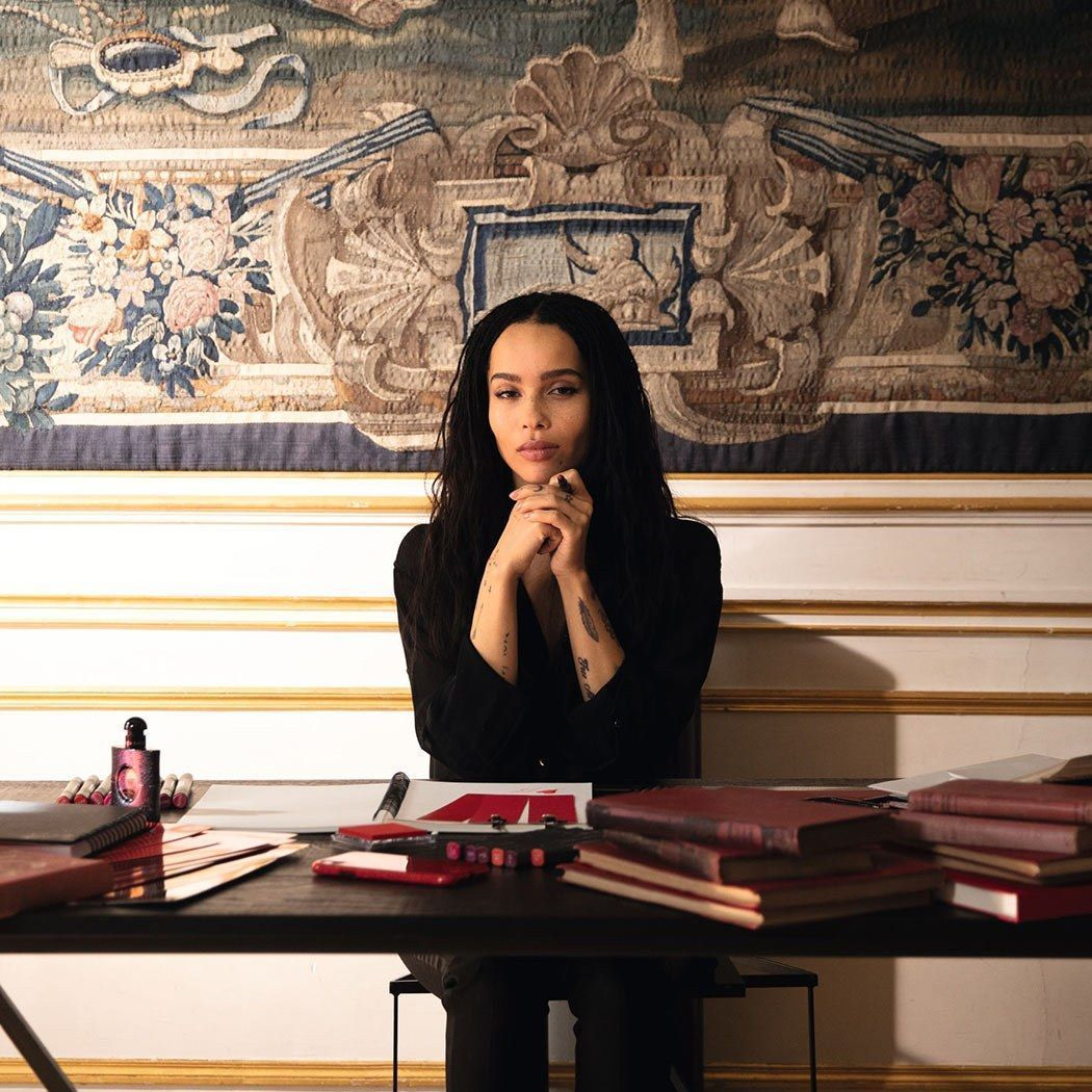Yves Saint Laurent Beauty x Zoë Kravitz Lipstick Collection