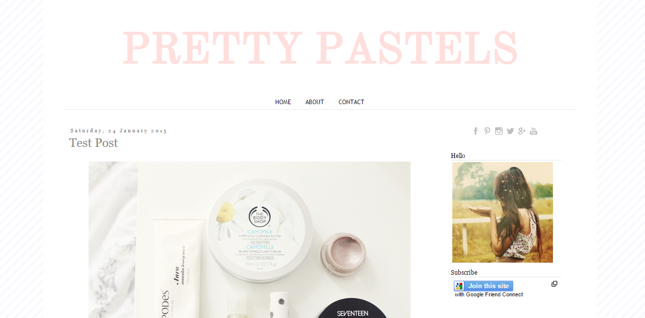 A Free Blogger Template Oh Zoe Blog Design Pinterest