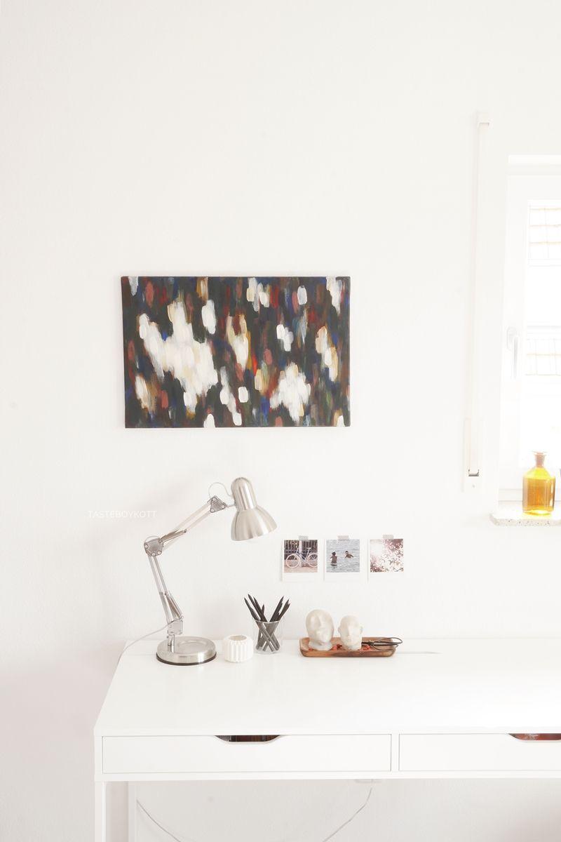 Deko-Update: Schreibtisch herbstlich dekoriert