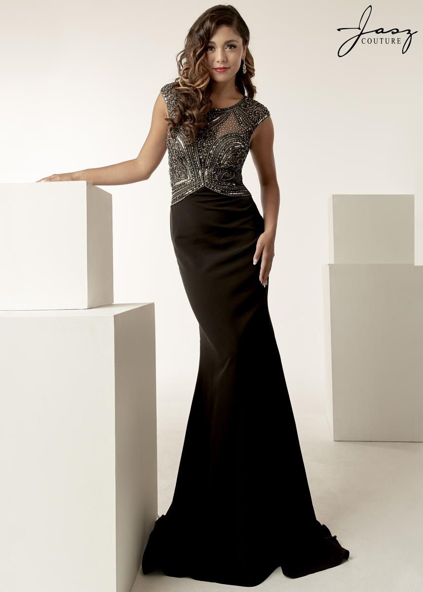 e37edbfb2a Gowns · Check out the deal on Jasz Couture 6248 Gown with Beaded Illusion  at French Novelty