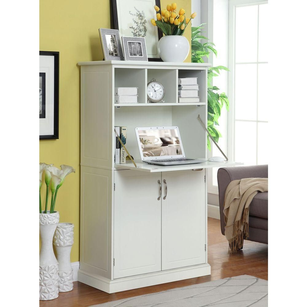 Amelia white desksk18487 the home depot desks for