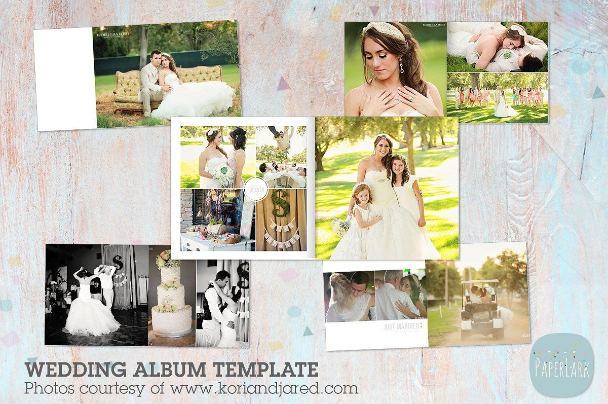 Rw001 Wedding Album Template Wedding Album Templates Wedding Album Album Cover Design