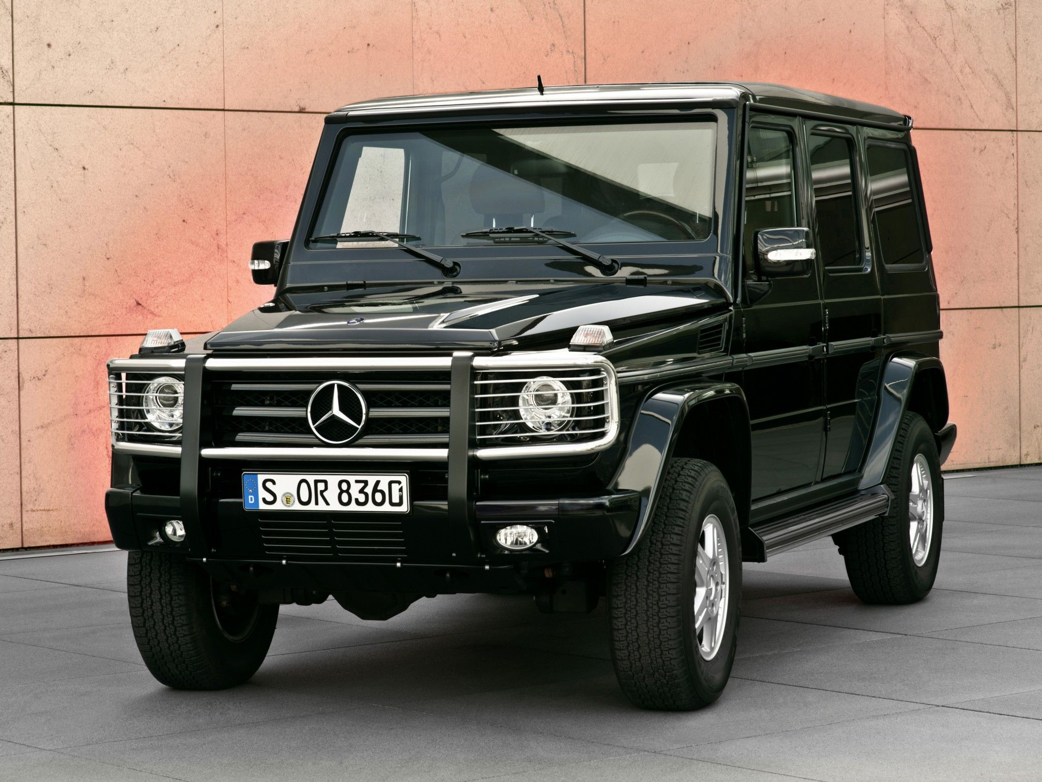 2009 armored mercedes benz g 500 guard w463 suv 4x4 g for Mercedes benz g class 4x4