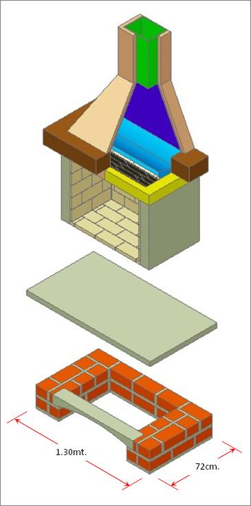 Como hacer una chimenea de uso domestico chimenea - Como disenar una chimenea de lena ...
