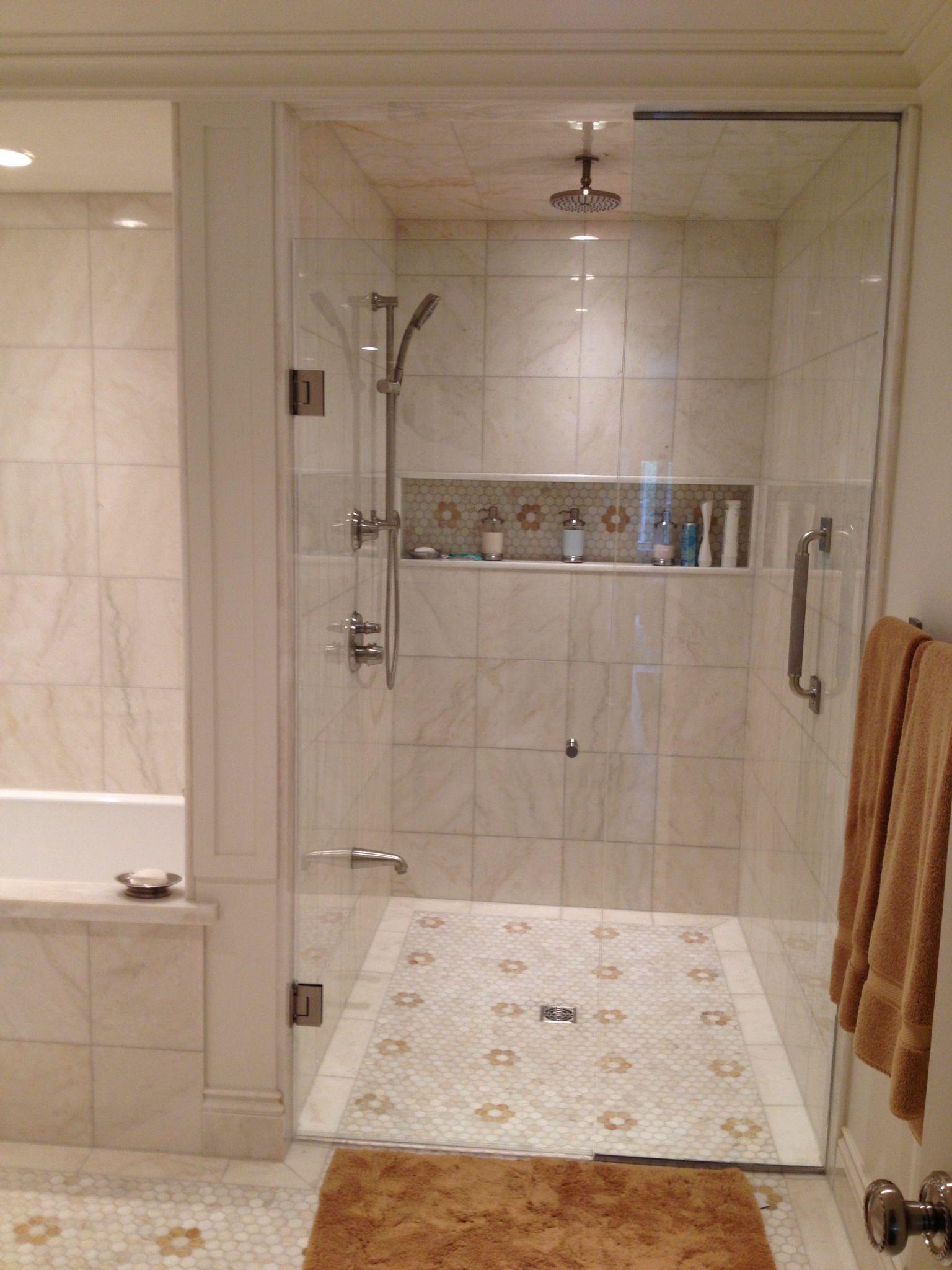 Shower ledge Shower niche