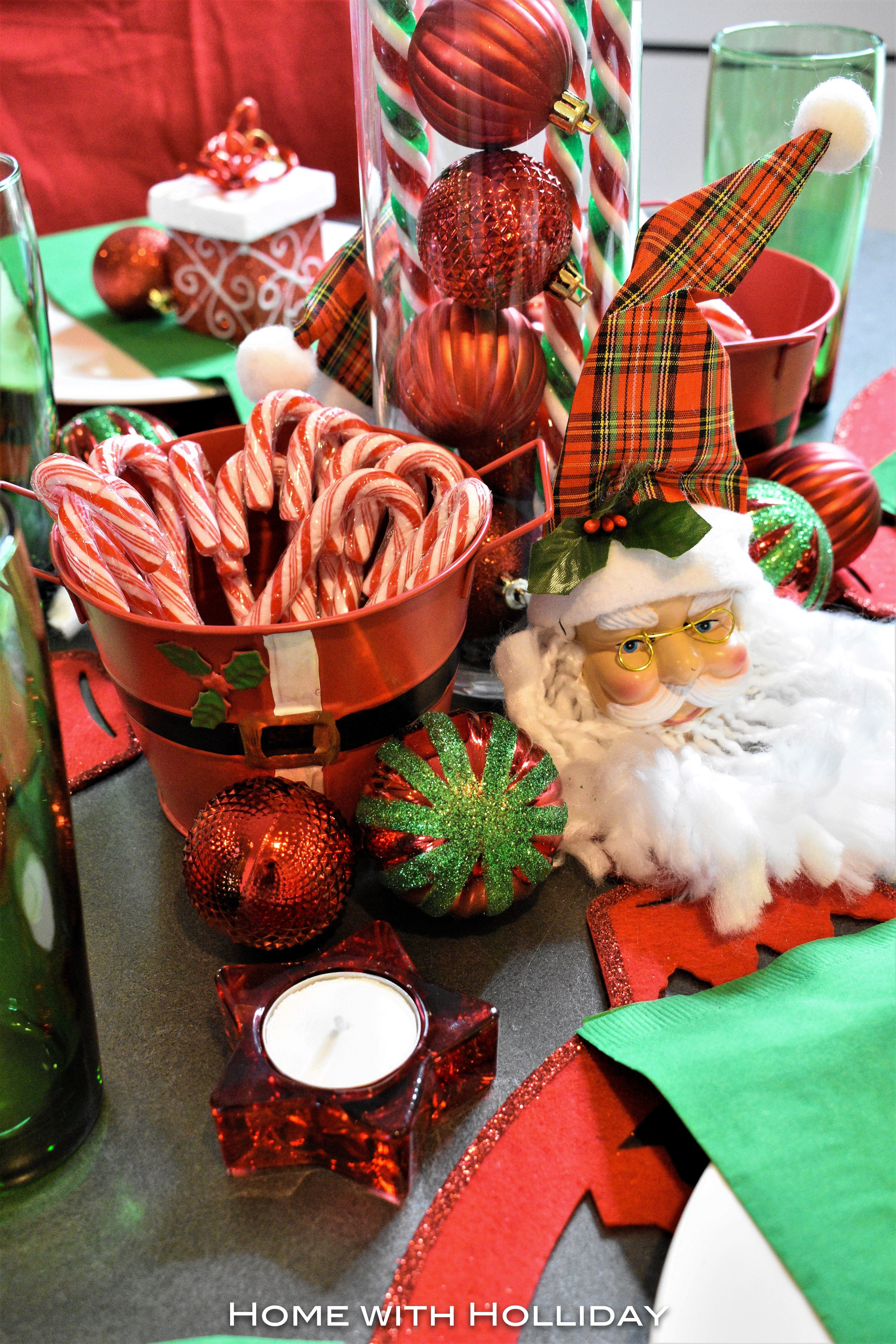 Dollar Tree Kid s Christmas Table Setting Home with Holliday