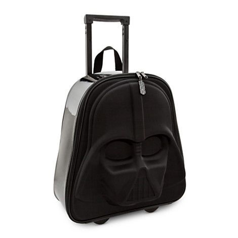 Disney's Darth Vader Star Wars Suitcase is Perfect for Earth Travel #starwars #gifts trendhunter.com
