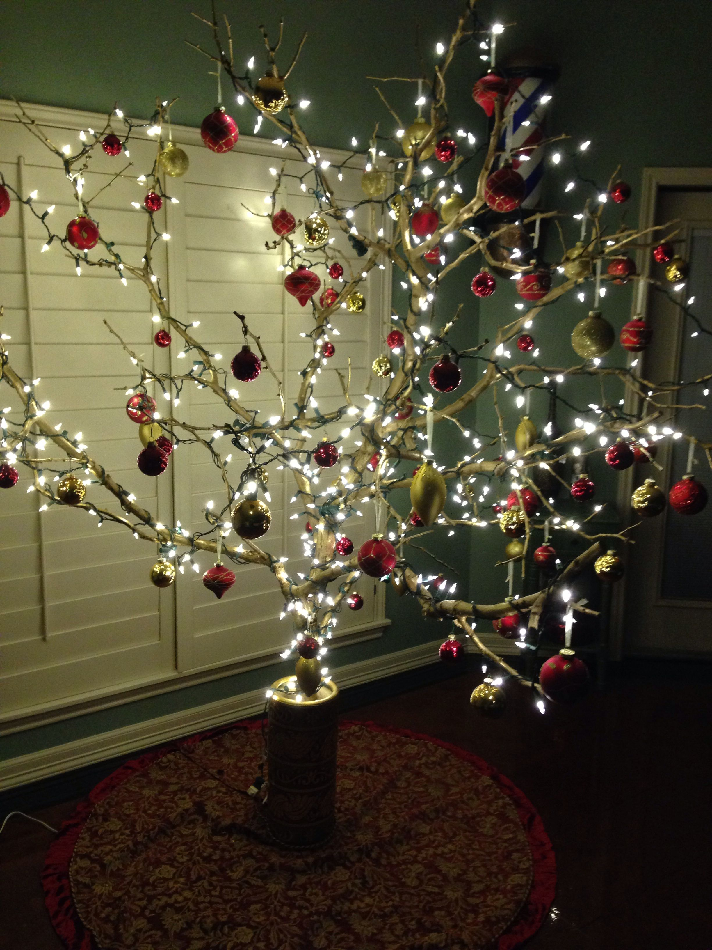 Mesquite Branch Christmas Tree