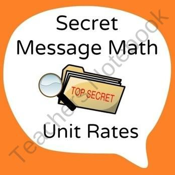 Unit Rate Word Problems w/ Complex Fractions ~ Common Core Aligned ...