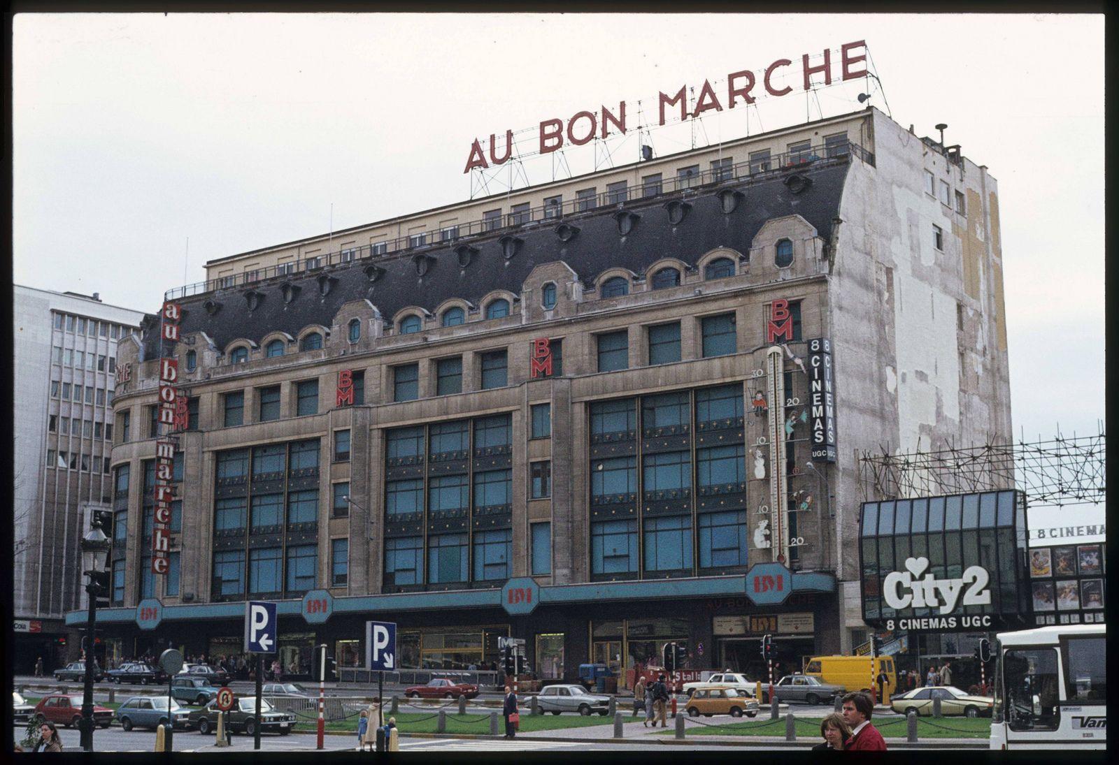 1981 03 Au Bon Marche Boulevard Du Jardin Botanique Bruxelles