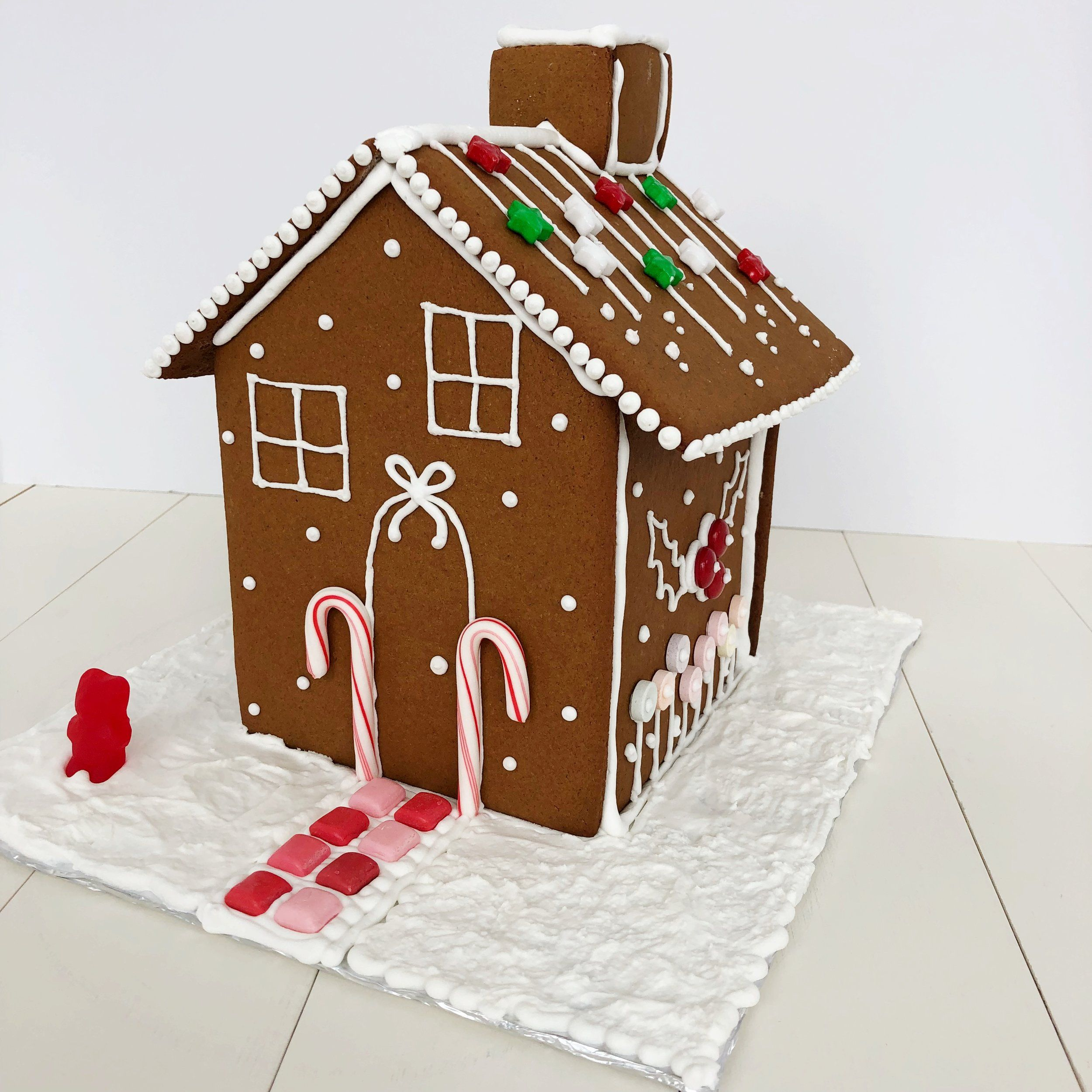 The Ultimate Gingerbread Houses Free Template And Recipe