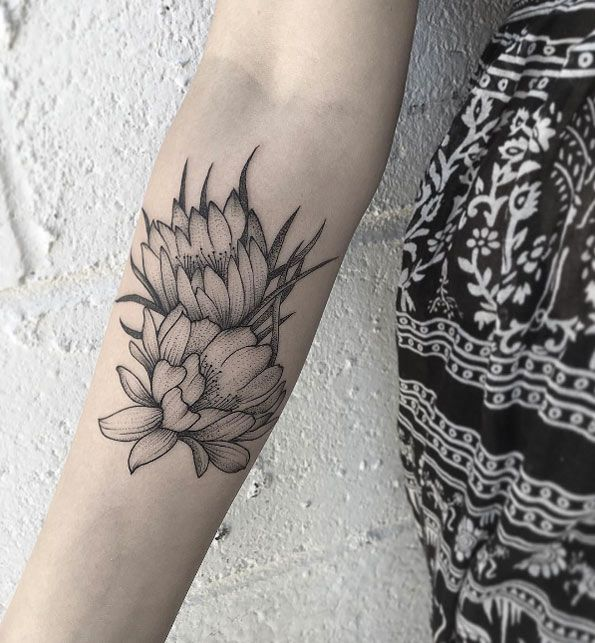 60 charming tattoos all naturalists will appreciate cactus flower rh pinterest com cactus flower tattoo meaning floral cactus tattoo