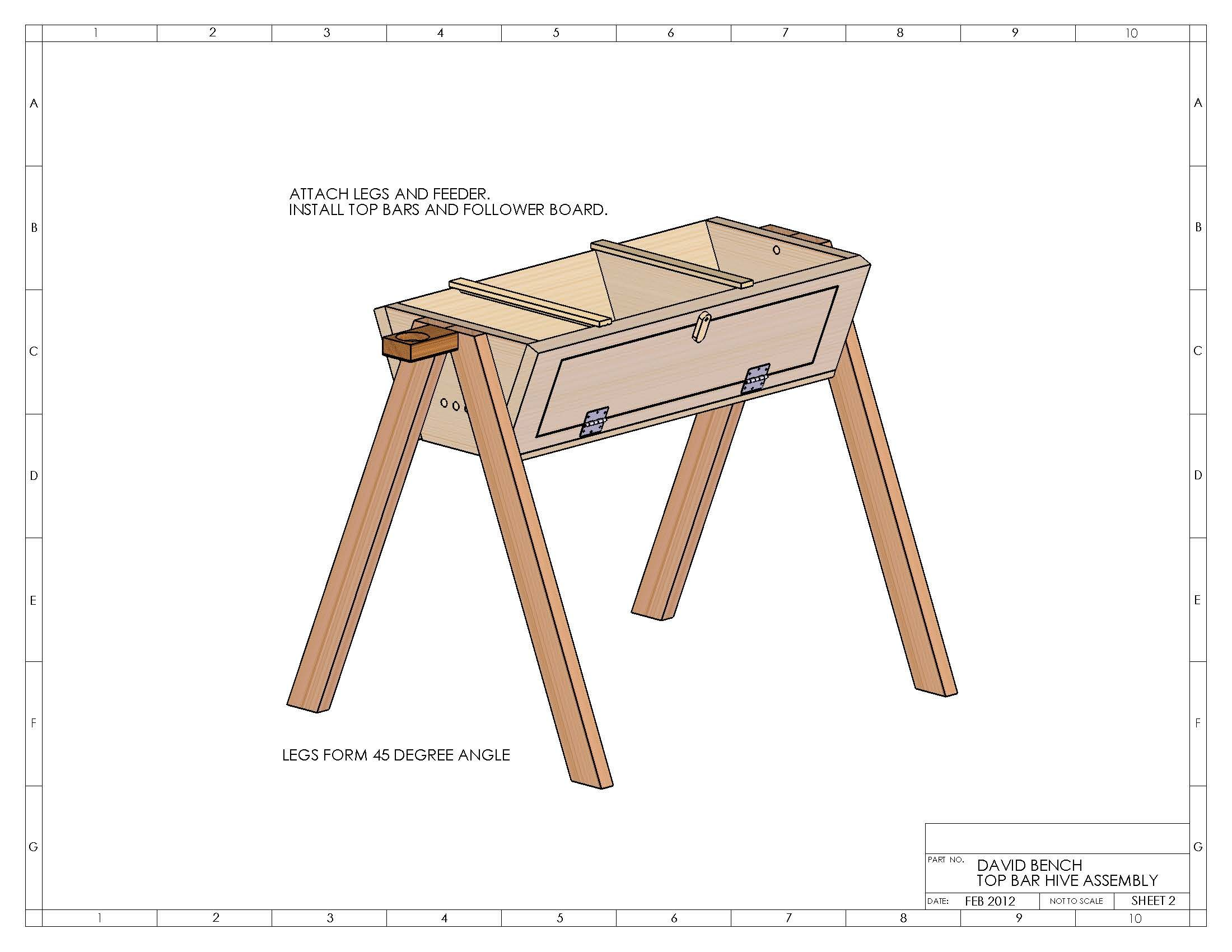 Top Bar Hive Plans - David Bench | The Wasatch Beekeepers ...