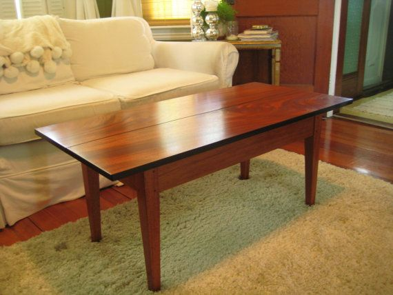 Coffee Table Antique Mahogany Shaker Style By Robertmarshall