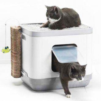 Casa Multifuncion Catconcept Para Gatos Cama Y Arenero Cajas
