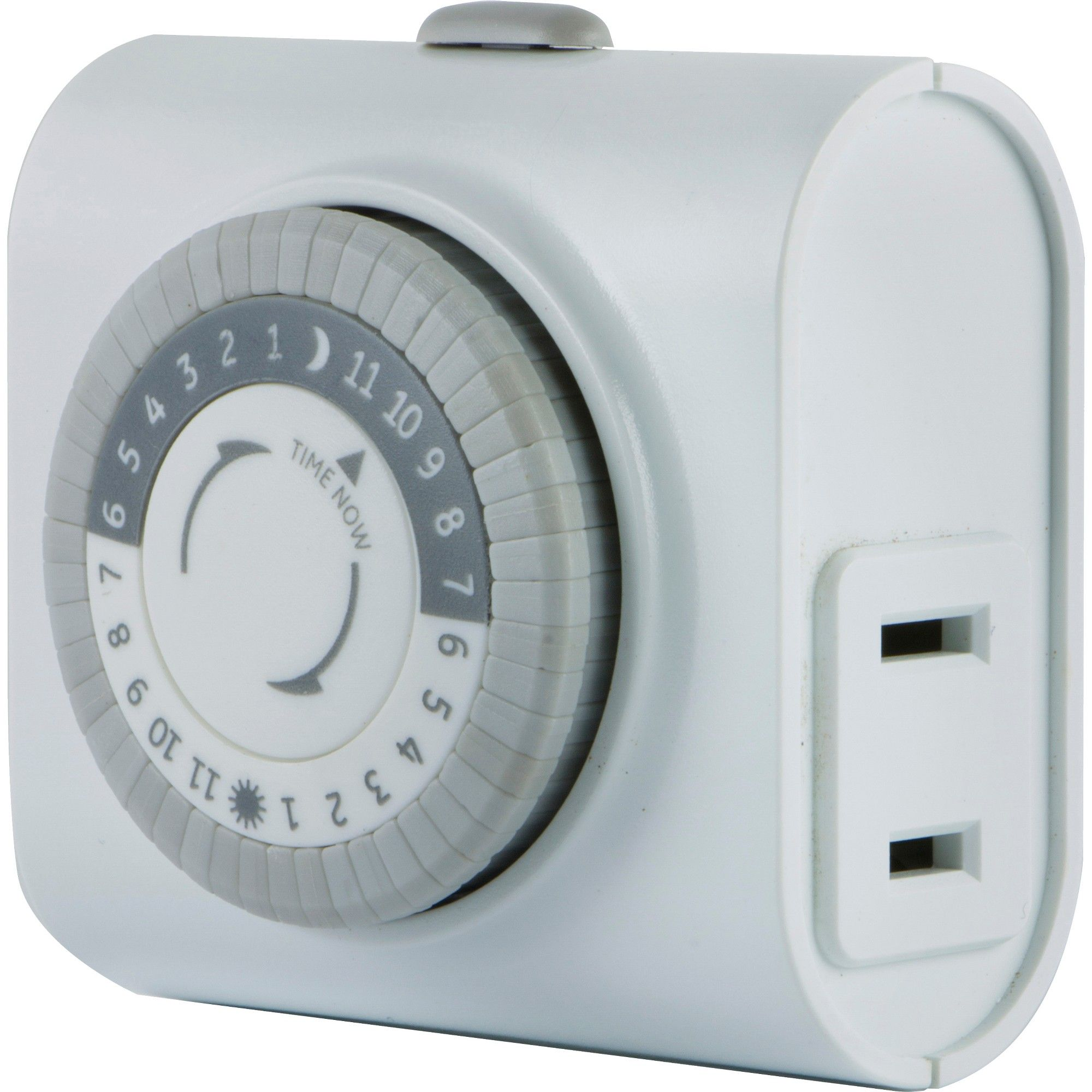 GE Indoor Mechanical Timer 24hr with 1 Outlet, White in 2018