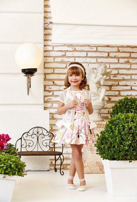 Vestido Anjo D'Agua Moda Infantil 6232