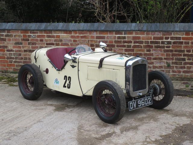1930 austin seven ulster sports chassis no to be advised for Austin rising fast motor cars