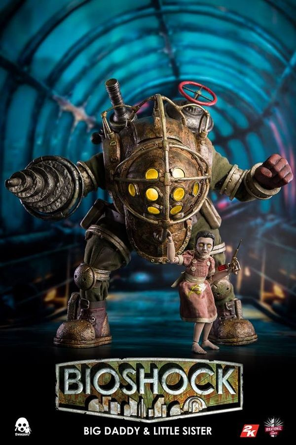 Bioshock Big Daddy Little Sister 1 6 Scale Collectible Figure