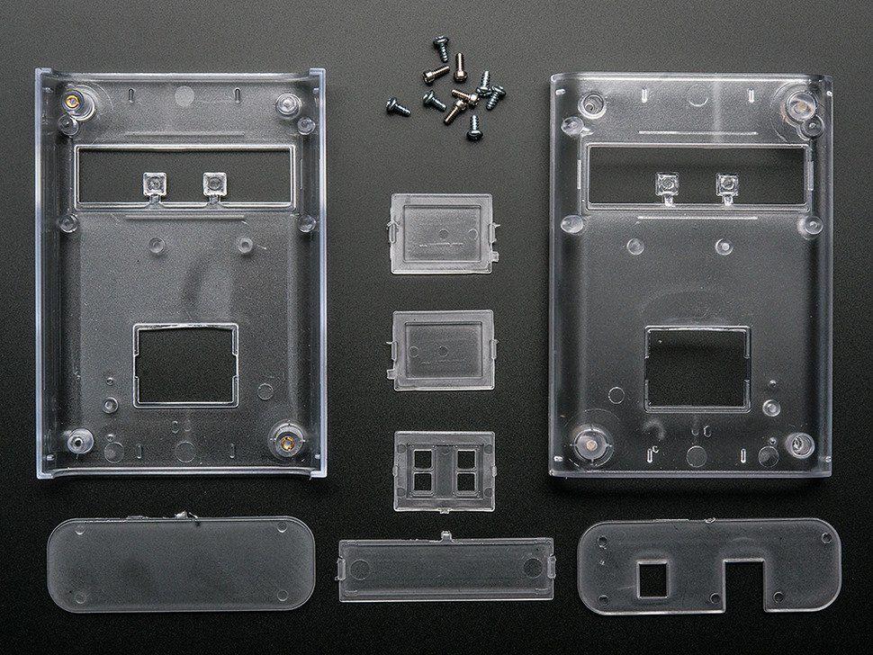 Clear Enclosure for Arduino - Electronics enclosure - 1.0