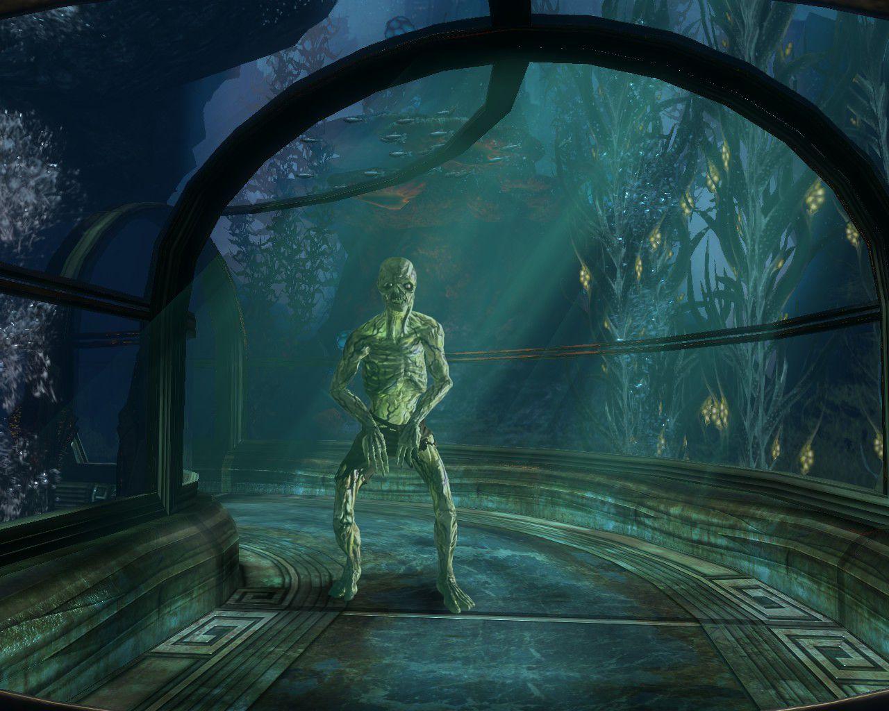 Обои girls, armor, town, diving suit, Bioshock. Разное foto 9