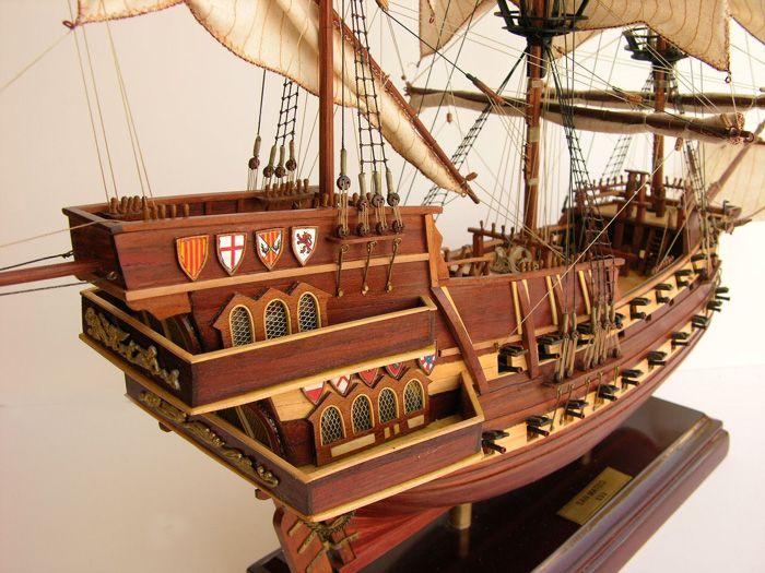 Pics For Spanish Galleon 16th Century Spanish Galleon Model