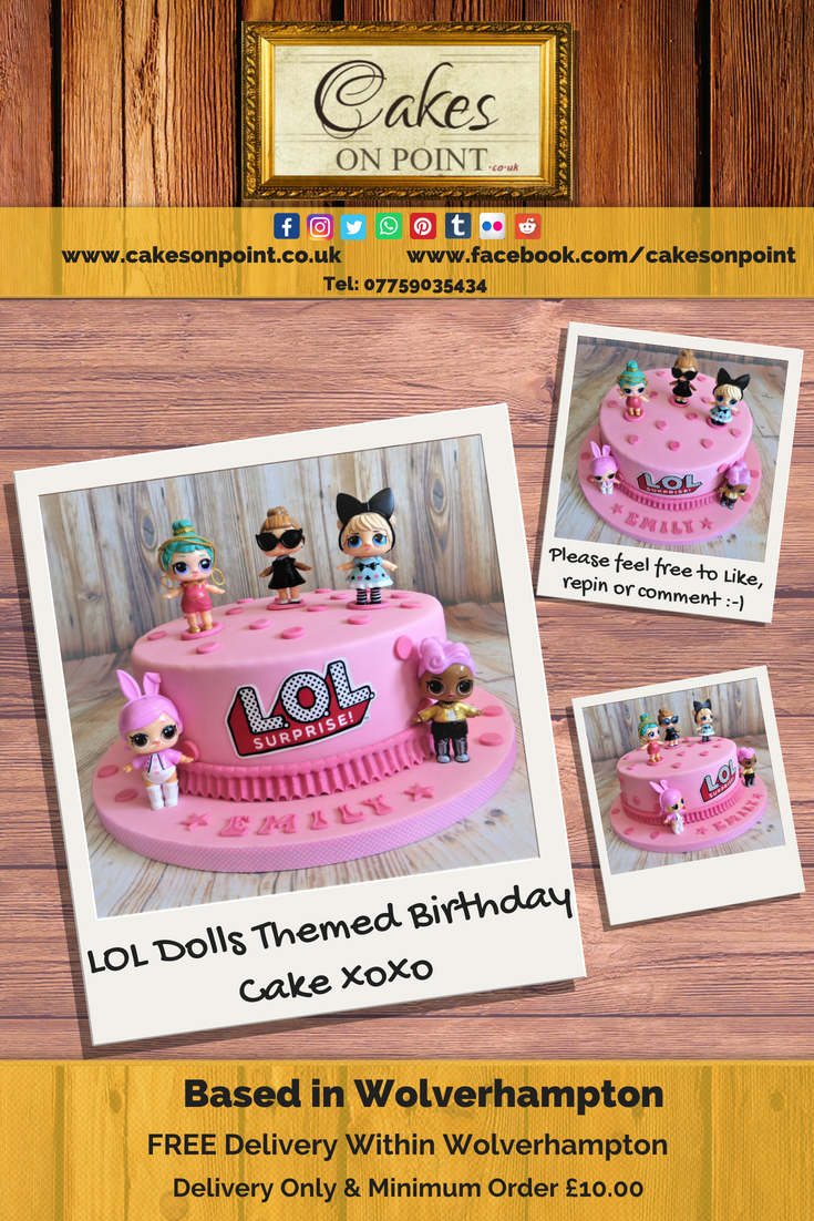 Marvelous Lol Dolls Themed Birthday Cake If You Like Birthday Cards Printable Giouspongecafe Filternl