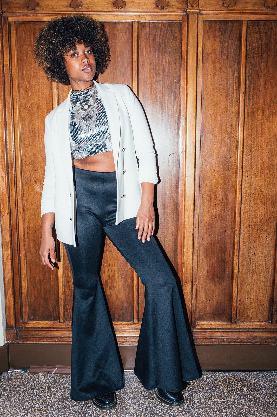 "24 Looks That Take ""Fancy"" & Flip It On Its Head #refinery29  http://www.refinery29.com/2016/11/130843/afropunk-fancy-dress-ball-best-dressed#slide-7  Shaina Robinson, 28How would you describe your look?""'70s Michael Jackson."" ..."