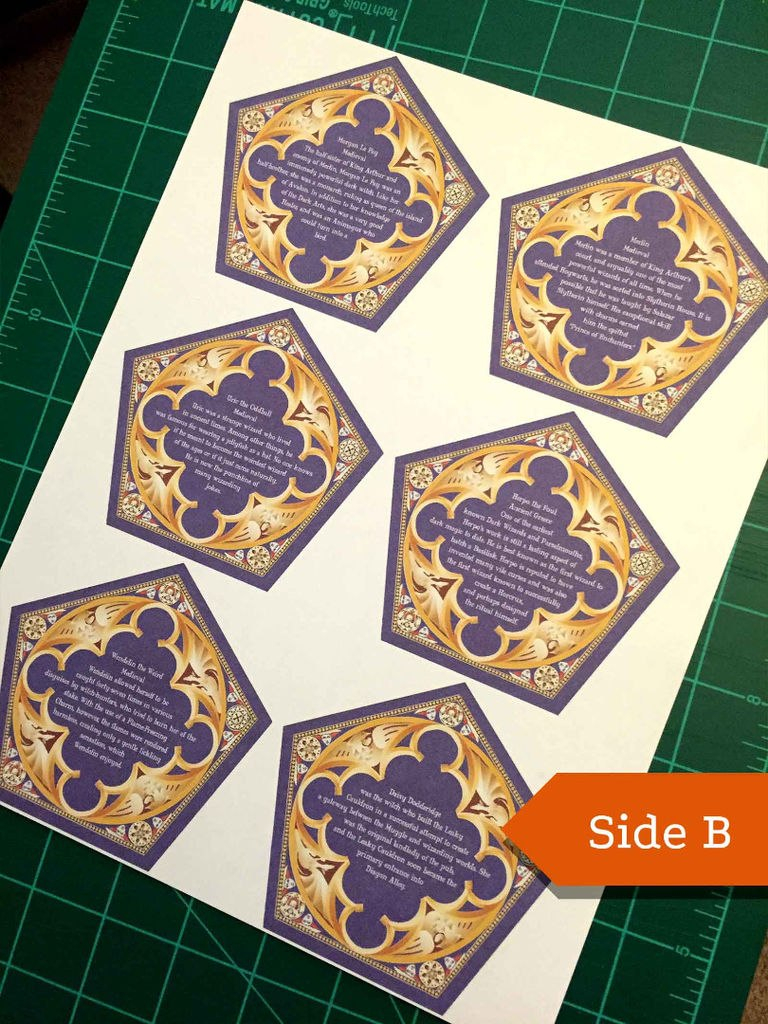 Honeyduke S Chocolate Frog Cards Steps With Chocolate Frog Card Template Chocolate Frogs Harry Potter Harry Potter Christmas Tree Harry Potter Birthday Cards