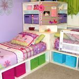 Make Storage Unit With 2 Twin Beds So Awesome Especially For